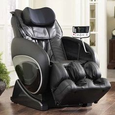 Cozzia 6027 Robotic Zero Gravity Reclining Massage Chair Upholstery: B