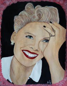 Erin Stefanak's Art: Pink