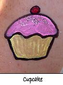 Pink Cupcake Cheek Art for Girls                                                                                                                                                                                 More