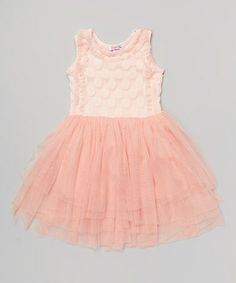Loving this Pink Chiffon Dress - Toddler & Girls on #zulily! #zulilyfinds