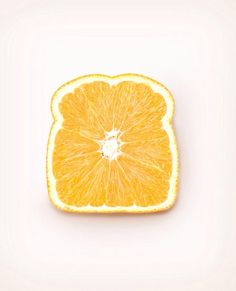 Orange boterham
