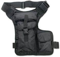 Hip bag with leg strap, great for traveling and zombie apocalypse