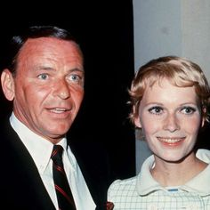 Frank Sinatra and Mia Farrow.... Married 1966-68