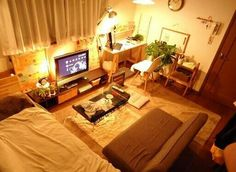 Japanese studio apartment 部屋                                                                                                                                                                                 More