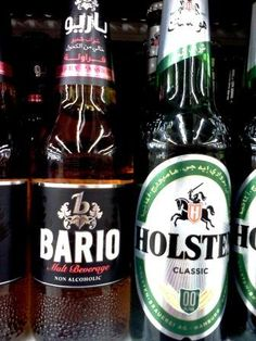 Non-Alcoholic Beer everywhere in Kuwait -__-