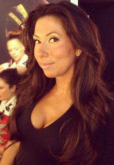 Dayna Castano proves, feminine, voluminous hair is always trending! #TRESmbfw #mbfw