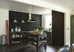 BOISERIE & C.: Pittura Lavagna - Chalk Board Paint: 24 nuove idee