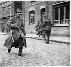 Adolf Hitler in May 1915.