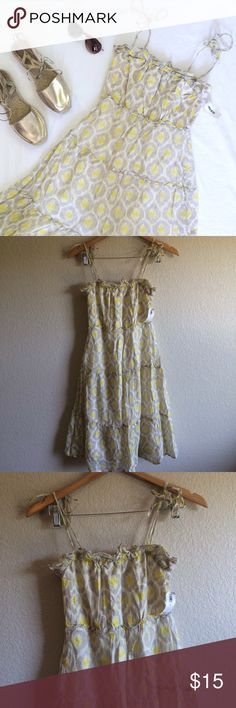 """Old Navy • Dress This cute summer dress is NWT.  Length➝31"""" (not including straps) Bust flat➝13"""" Old Navy Dresses"""