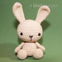 "Amigurumi - Crochet Bunny ""Fips"" - Amigurumi Crochet Rabbit, Amigurumi Crochet Tikuba Series, Crochet Easter Bunny, Easter, Spring - Ribbelmonster"