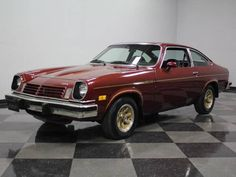 1975 Chevrolet Cosworth Vega Coupe Maintenance of old vehicles: the material for new cogs/casters/gears could be cast polyamide which I (Cast polyamide) can produce