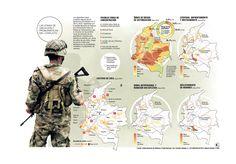 Zonas de ubicación, foco a realidad del conflicto armado