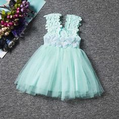Flower Baby Girls Princess Dress Girl Dresses Summer Children Clothing Casual School Toddler Kids Girl Dress for Girls Clothes