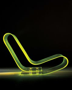 This is the ultimate transparent chair! The futuristic Maarten van Severen LCP chair by Kartell. Although his life was tragically cut short at the age of Maarten left us with some amazing icons of modern design May 2011 Design Furniture, New Furniture, Chair Design, Salon Furniture, Design Design, Furniture Ideas, Design Ideas, Joe Colombo, Low Chair