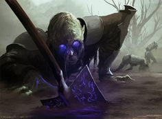 MtG Art: Undead Servant from Magic Origins Set by James Zapata ...
