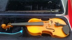 Beautiful violin in case with chin rest no scratches very well taken care of $250 in Fayetteville Georgia