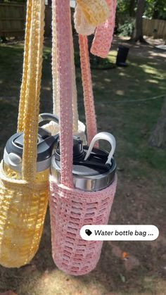 Crochet Home, Cute Crochet, Knit Crochet, Easy Crochet, Diy Crochet Projects, Crochet Crafts, Crochet Purses, Crochet Bags, Knitting Patterns