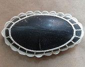 Wedding Table Decor Home Decor Crochet Lace Stone by Monicaj