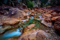 Valley of Colors - Little Backbone Creek, Shasta Lake, CA, USA