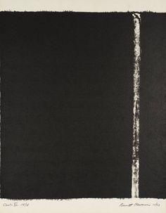 ❖Barnett Newman - Canto VI (1963–4)