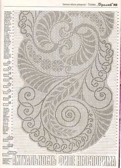 I have a feeling this would look stunning all done up :) Filet crochet chart Filet Crochet Charts, Crochet Doily Patterns, Crochet Diagram, Crochet Doilies, Crochet Lace, Crochet Stitches, Cutwork Embroidery, Embroidery Patterns, Cross Stitch Patterns