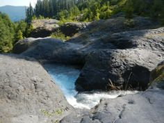 Lava Canyon. 5 mile round trip mt. st. helens