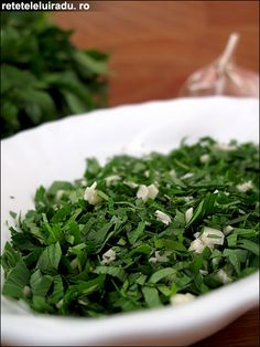 Persillade Seaweed Salad, Spices, Herbs, Ethnic Recipes, Food, Fine Dining, Spice, Essen, Herb