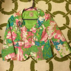 Nanette Lepore Floral Blazer Suit Jacket Perfect condition. Fits 4-6 Nanette Lepore Jackets & Coats Blazers