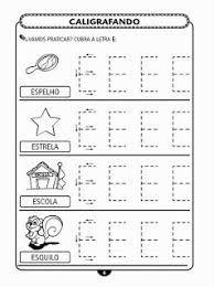 Resultado de imagem para atividades com a vogal e para educação infantil
