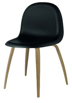 d8025a776a69e Gubi 5 chair - Black HiRek