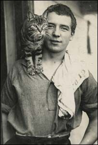 Perce Blackborow. He stowed away on the Endurance led by the awesome captain Ernest Shackleton and ended up being part of one of the most amazing survival stories of all time. There's a young adult novel about Perce called Shackleton's Stowaway. Plus look how cute he is with that cat.