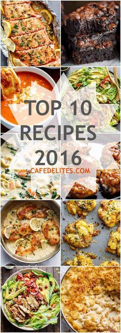 TOP 10 RECIPES 2016 on Cafe Delites! All these would be soooo delicious! Not surprised they are her most popular! - March 09 2019 at Best Cod Recipes, Cod Fish Recipes, Beef Recipes For Dinner, Most Popular Recipes, Top Recipes, Pasta Recipes, Cooking Recipes, Favorite Recipes, Healthy Recipes