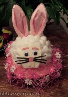 bunny bonnet Easter Crafts, Easter Ideas, Diy Unicorn Costume, Easter Hat Parade, Spring Hats, Kids Party Games, Easter Activities, Toddler Crafts, Easter Baskets