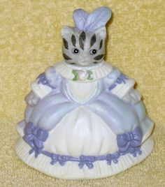 Rare Vintage Kitty Cucumber Bell Cinderella Ball Gown LavenderFigurine | Collectibles, Decorative Collectibles, Decorative Collectible Brands | eBay!