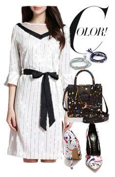 """dress"" by masayuki4499 ❤ liked on Polyvore featuring Loeffler Randall"