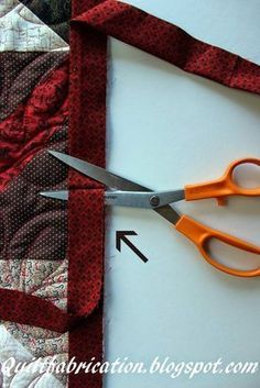 I want to share a really easy way to connect the ends of binding that I just discovered. Previously, I used a method that required a lot of...