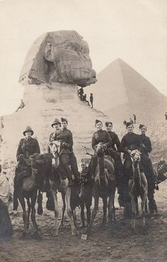 a-lie-like-us: British troops (RFC) in Egypt -1916