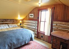 Trout River Log Cabin   Amenities