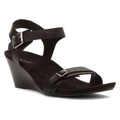 e74acbe87529c  139.95 Amazon.com  Vionic Noble Laurie - Women s Wedge Sandal  Shoes Black  Wedge
