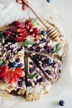 Berry Pizza Recipe w
