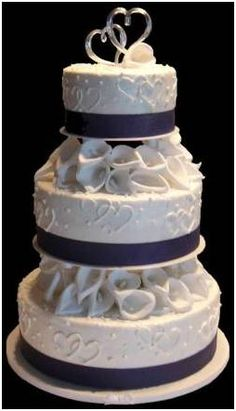 pillars for wedding cakes wedding cake topper royal blue wedding 6526