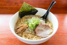 Opt for Sapporo-style miso ramen at Ren's Ramen in Wheaton. Photograph by Andrew Propp.