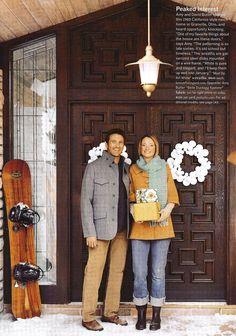 Contemporary wreath!  DIYable??