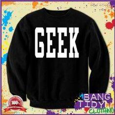 GEEK Swag Dope Hipster Letterman College Mens Sweatshirt  Our Price: £19.97