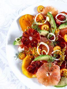 Salade d'agrumes en folie - Quatre Saisons Au JardinQuatre Saisons Au Jardin