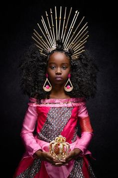 Magical Black Girls Reimagine Disney Princesses - Photos - The Buddy Young Black, Black Kids, Black Babies, Black Disney Princess, Moda Afro, Black Royalty, We Are The World, Afro Punk, Photo Series