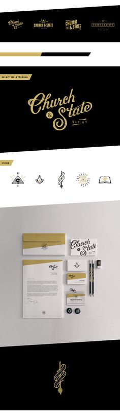 <> Church & State Brand Development — Tim Praetzel