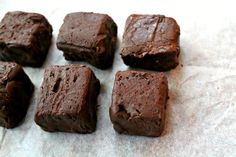 Easy Chocolate Chilli Fudge~5 Ingredients or Less #SundaySupper