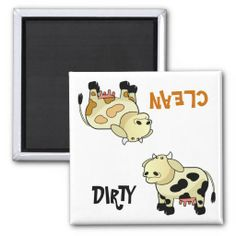 """>>>Coupon Code          """"CLEAN / DIRTY"""" Cartoon Milk Cow Dishwasher Magnet           """"CLEAN / DIRTY"""" Cartoon Milk Cow Dishwasher Magnet we are given they also recommend where is the best to buyShopping          """"CLEAN / DIRTY"""" Cartoon Milk Cow Dishwasher Magnet...Cleck Hot Deals >>> http://www.zazzle.com/clean_dirty_cartoon_milk_cow_dishwasher_magnet-147870390336747761?rf=238627982471231924&zbar=1&tc=terrest"""