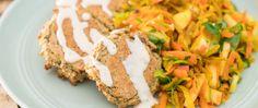 Baked Falafels with Tahini Sauce • Joyous Health